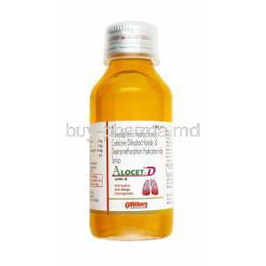 Alocet D Syrup, Cetirizine, Dextromethorphan and Phenylephrine