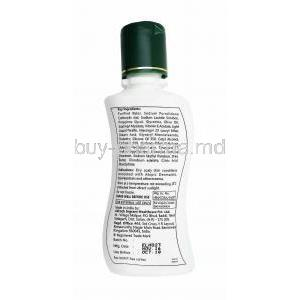 Efatop PE Lotion bottle back