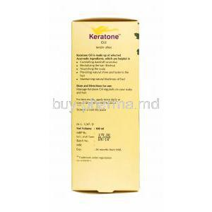 Keratone Oil directions for use