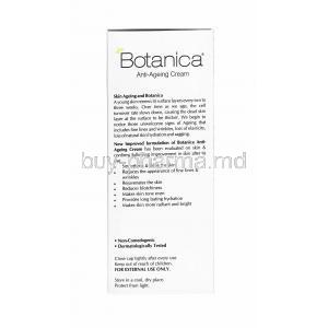 Botanica Anti Ageing Cream indication