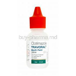 Travoral Mouth Paint, Clotrimazole