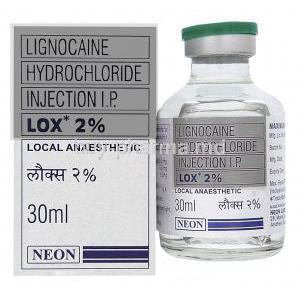 Lidocaine Injection 2% Vial 30ml