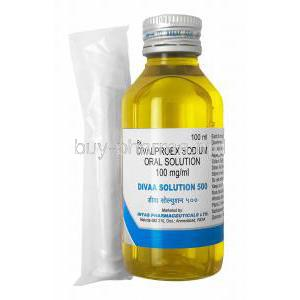 Divaa Oral Solution, Divalproex