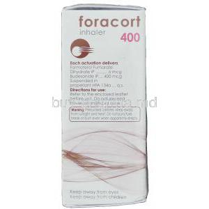 Foracort 400, Generic  Symbicort,   Formoterol Fumarate /  Budesonide Composition