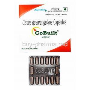 CoBuilt, Cissus Quadrangularis box and capsules