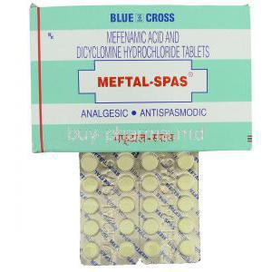 Meftal Spas, Mefenamic acid/ Dicyclomine