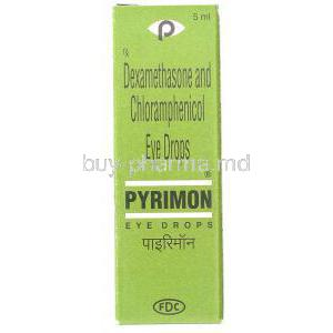 Pyrimon,  Chloramphenicol/ Dexamethasone Eye Drops