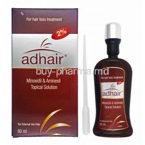 Adhair Solution, Minoxidil/ Aminexil