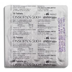 Ossopan Calcium/ Phosphorus/ Vitamin D3