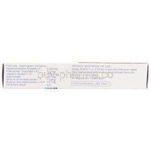 Proctosedyl Ointment Box Composition Information
