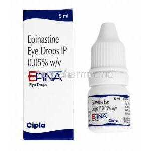 Epina Eye Drop, Epinastine