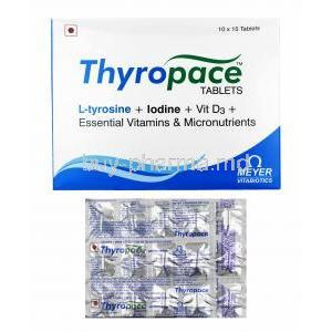 Thyropace box and tablets