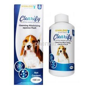 Clearify Ear Cleansing Solution for Dos and Cats