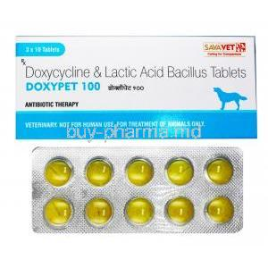 Doxypet for Animals, Doxycycline/ Lactic Acid Bacillus