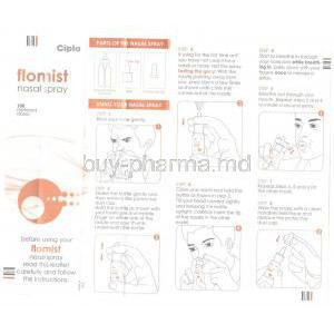 Flomist, Generic Flonase, Spray Fluticasone Propionate Nasal Spray information sheet 1