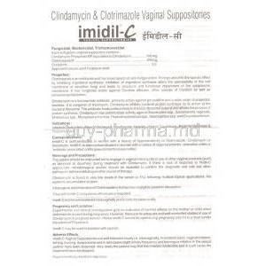 Imidil-C, Clindamycin/ Clotrimazole Information Sheet 1