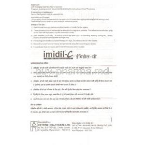 Imidil-C, Clindamycin/ Clotrimazole Information Sheet 2