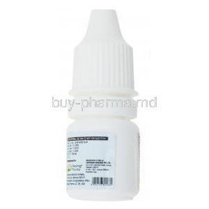 Super Lash, Bimatoprost Ophthalmic solution 0.03%, 3ml, bottle side presentation with manufacturing information