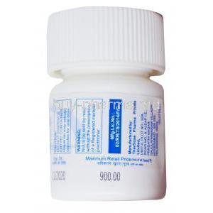 Lomoother, Lomustine Capsules IP 40mg, 6 capsules, Therdose Pharma Pte ltd, Bottle presentation