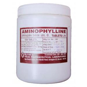 Aminophylline, Generic Phyllocontin, Aminophylline 100mg