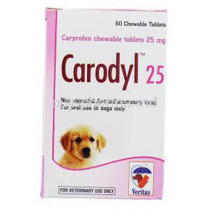 Carodyl, Carprofen 25 Mg For Dog