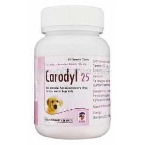 Carodyl, Carprofen 25 Mg For Dog Bottle