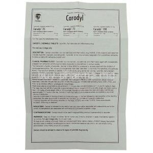 Carodyl, Carprofen 25 Mg For Dog Information Sheet 1