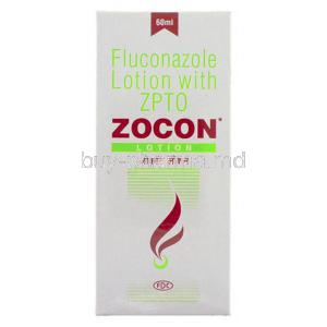 Zocon,  Generic  Diflucan,  Fluconazole 60 Ml Lotion Box