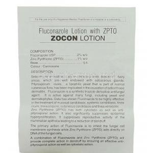 Zocon,  Generic Diflucan,  Fluconazole 60 Ml Lotion Information Sheet 1
