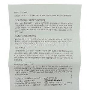 Zocon,  Generic Diflucan,  Fluconazole 60 Ml Lotion Information Sheet 2