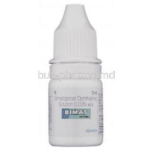 Bimat , Bimatoprost Eye drops bottle