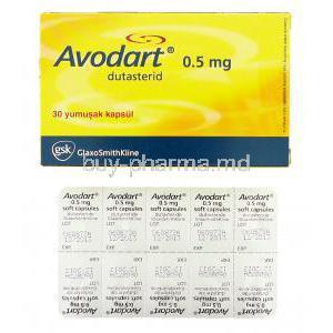 dutasteride 0.5 mg