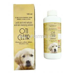 Oticlear Ear Cleansing Solution for Dogs and Cats