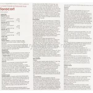Foracort, Generic  Symbicort, Formoterol Fumarate / Budesonide  Inhaler information sheet 1