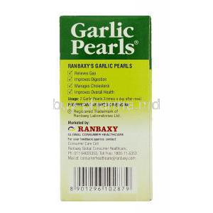 Garlic Pearls Usage
