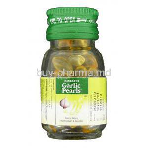 Garlic Pearls bottle
