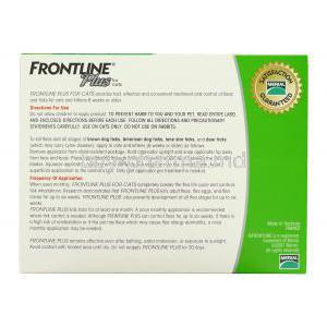 Frontline Plus for Cat (for cats and kitten 8 weeks or older)  Merial