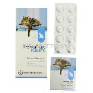 Drontal Allowormer for Cat