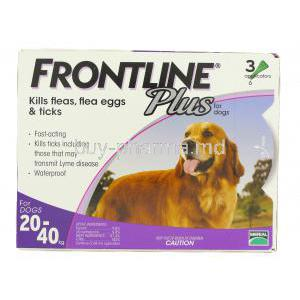 Frontline Plus for Dog 1.34ml for Big Dogs (20-40kg)