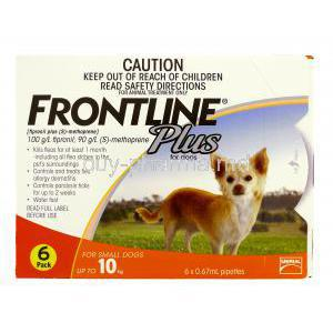 Frontline Plus for Dog Spot On for Small Dog (up to 10kg)