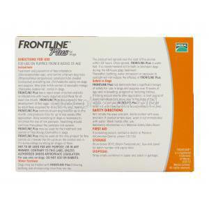Frontline Plus for Dog Spot On for Small Dog (up to 10kg) Merial