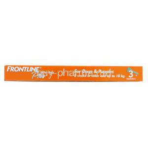 Frontline Plus for Dog (up to 10 kg) 3 0.67 ml applicator 3
