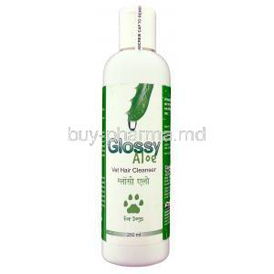 Glossy Aloe, Aloe Vera Shampoo For Dogs