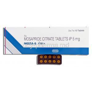 Mosid Mt,  Mosapride Citrate 5 Mg Tablet (Torrent)