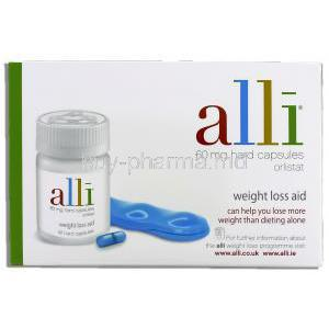 Alli 60 mg hard capsules