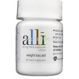 Alli 60 mg container