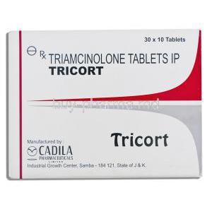 Tricort, Generic  Nasacort,  Triamcinolone 4mg Tablet (WYETH)