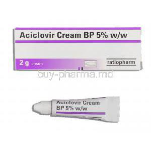 Aciclovir 5% cream