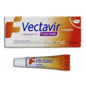 Penciclovir. Cream