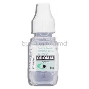 Cromal , Generic  Intal Eye Drop, Sodium Cromoglycate/Benzalkonium bottle